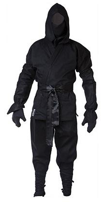Adult ninja suit