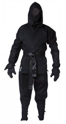 BLITZ Tenue de Ninja adulte