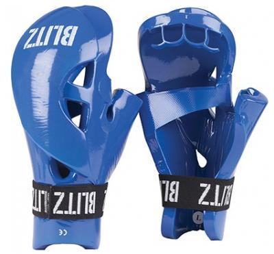 BLITZ  Protège-mains en PU double-rembourré de mousse