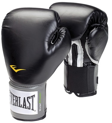 Everlast black pro style training gloves