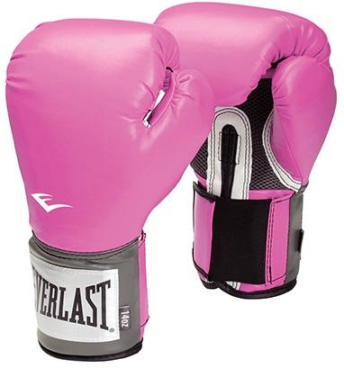 Gants Everlast pro style training Rose