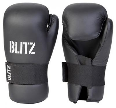 BLITZ Gants professionnels en pu à paume ouverte
