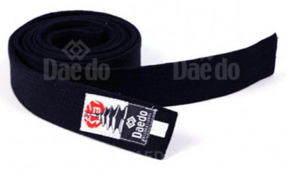 Black taekwondo