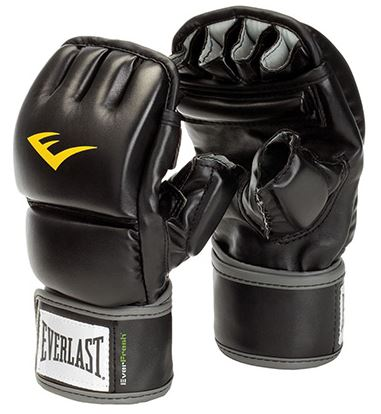 Everlast wristwrap heavy bag gloves
