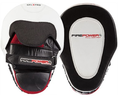 Firepower gel x pro curved focus pads