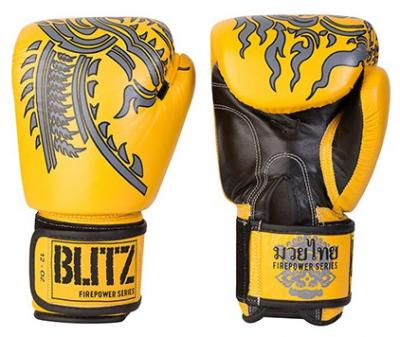GANTS DE BOXE THAI FIREPOWER