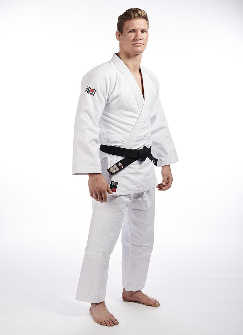 Ippon gear basic judo uniform judoanzug 550 white 1