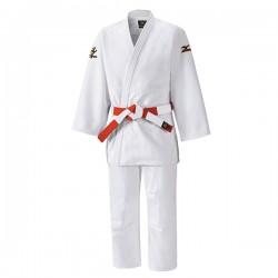 Judogi mizuno yawara 750 gr de blanc