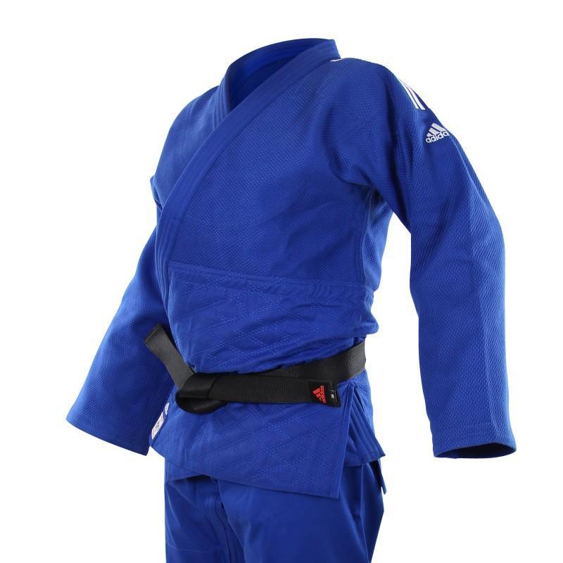 Kimono de judo bleu champion ii ijf adidas 1