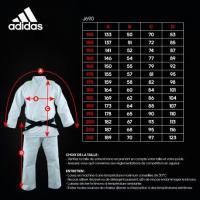 Kimono de judo quest couleur adidas j690 1