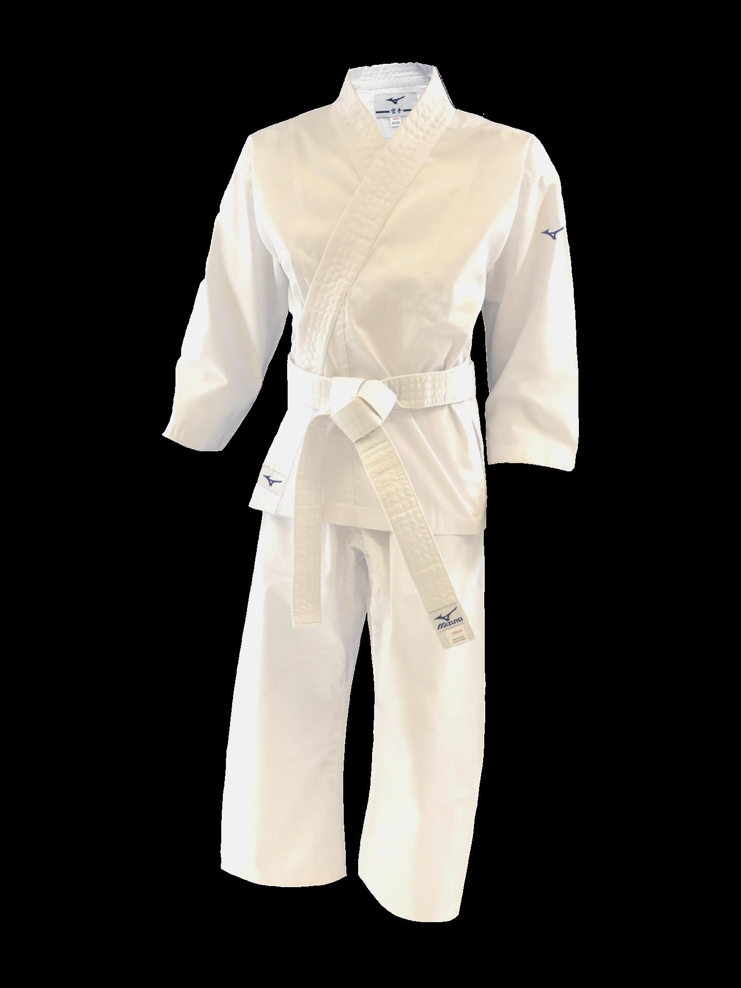 Kimono karate kiai