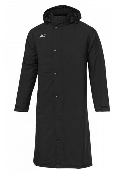 Mizuno parka bench jacket black unisex 720x720
