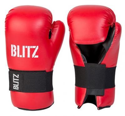 BLITZ Gants professionnels en cuir à paume ouverte