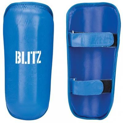 BLITZ Protège-tibia en cuir professionnel