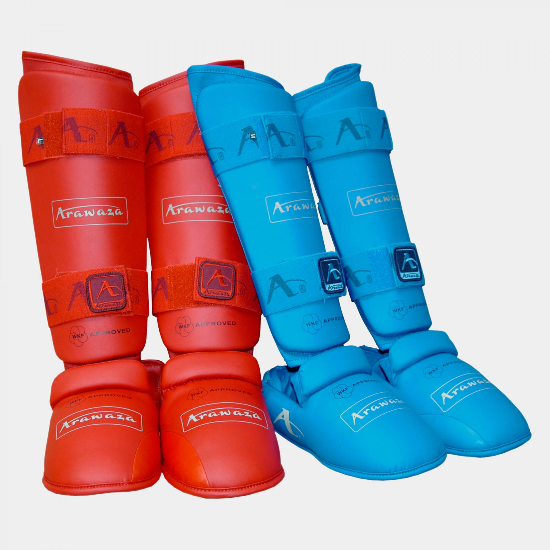 Shin pads approved wkf arawaza