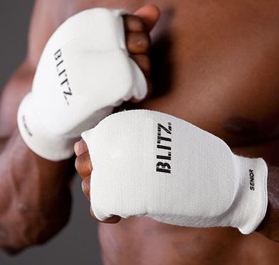 BLITZ Protections de mains élastiques